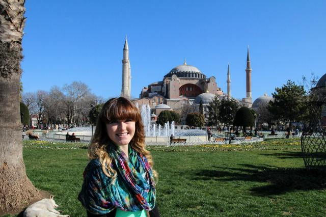 My most recent trip to Istanbul. The Hagia Sophia