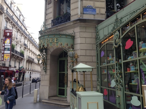 Quite possible the most famous macaron vendor in Paris