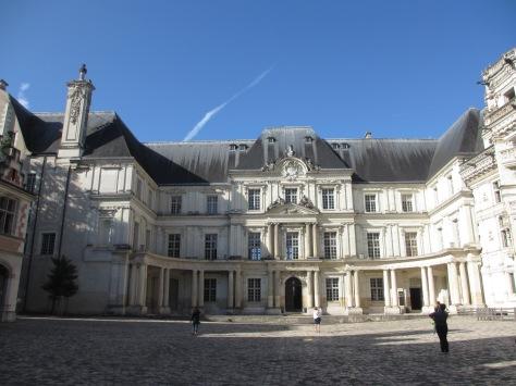 The Château de Blois. Have fun pronouncing that.