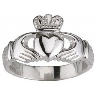 A Claddagh ring