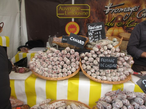 Sausage from around France